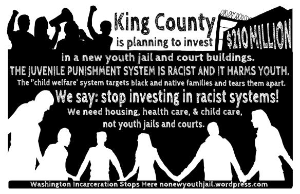 no youth jail postcard