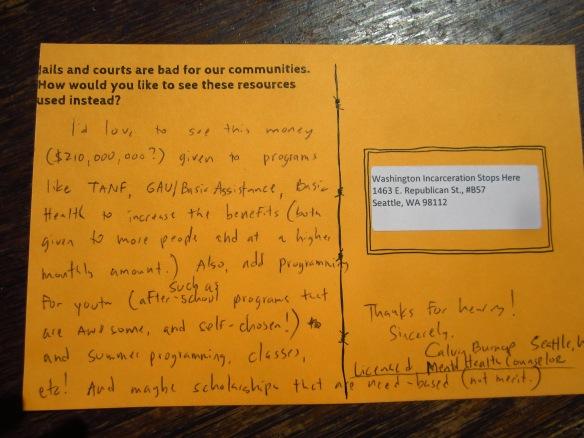 calvin's postcard