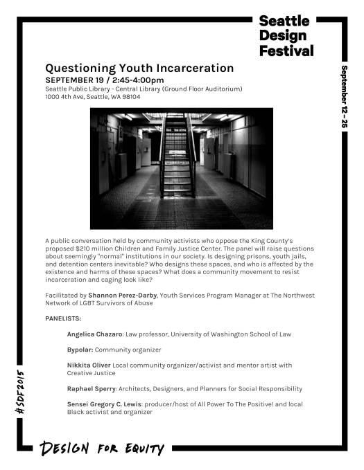 No Youth Jail Panel