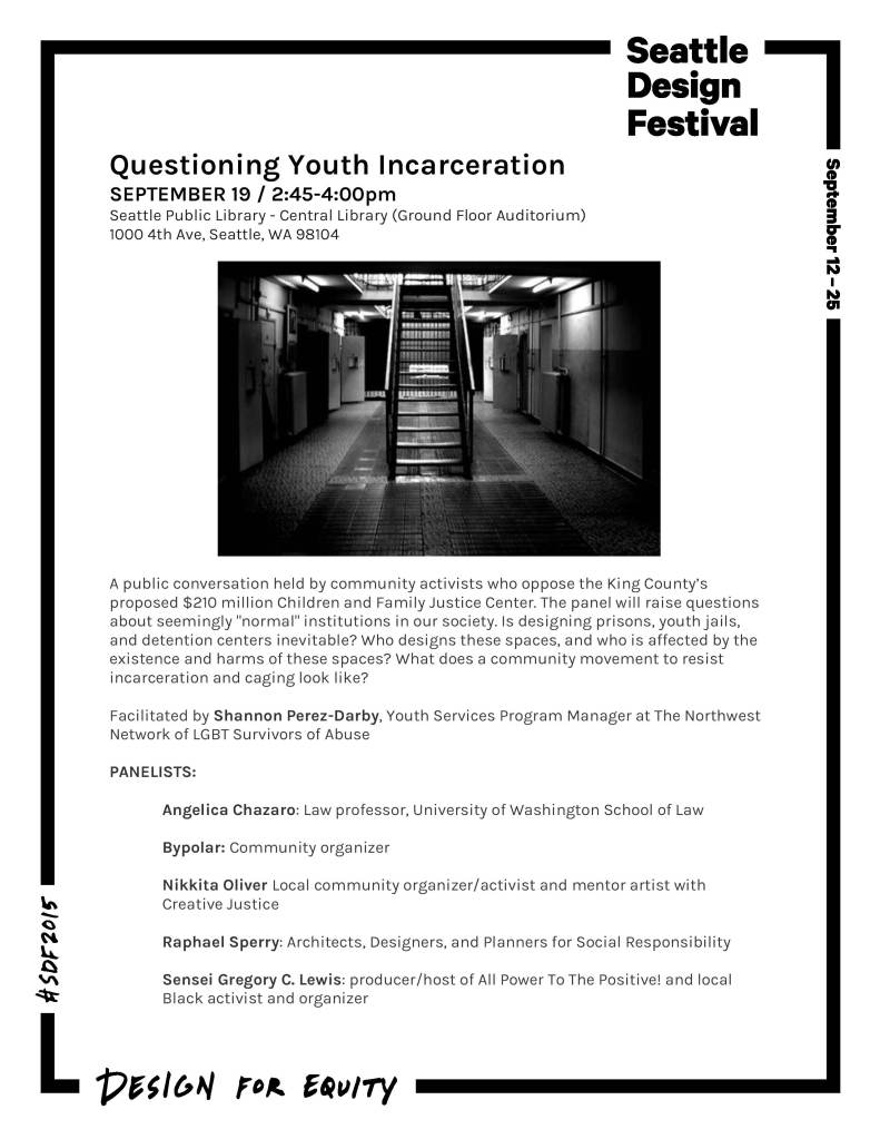No Youth Jail Panel