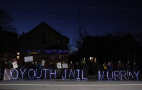 murray home protest