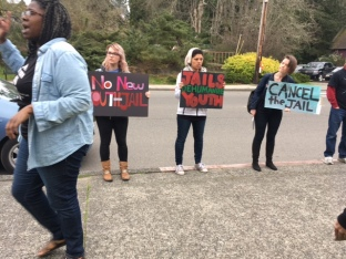 no new youth jail action at dow campaign launch2