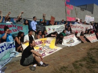 July 17, 2018 rally and press conference naming 120 new organizations endorsing the People's Moratorium.